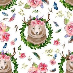 "6"" Rocky Mountain Floral Bear"