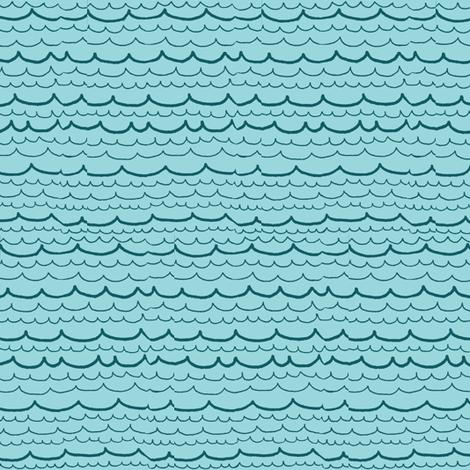 dark waves fabric by ali*b on Spoonflower - custom fabric