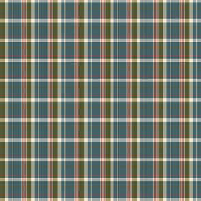 forest cottage plaid