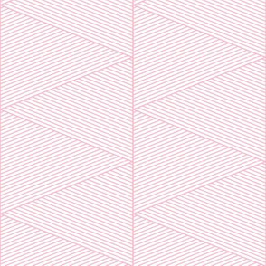 geo cool line work triangles pink