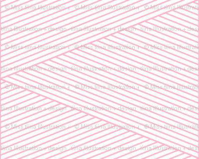 geo cool line work triangles pink LG