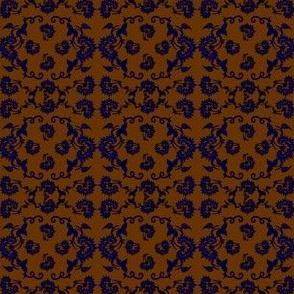 Colonial Boy and Colonial Girl Dolls Custom Fabric #6