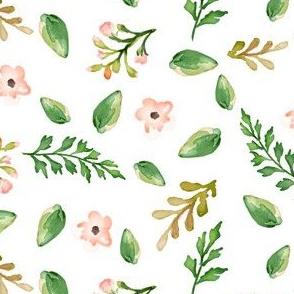 "8"" Floral Dreams Background"