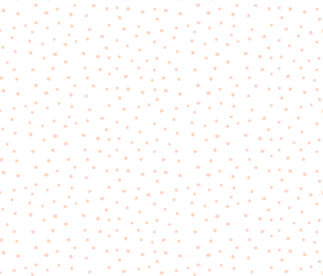 """10.5"""" Floral Dreams Polka Dots fabric by shopcabin on Spoonflower - custom fabric"""