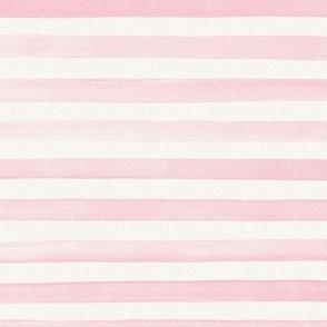 Blush Watercolor Stripes