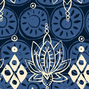 lotus diamond indigo
