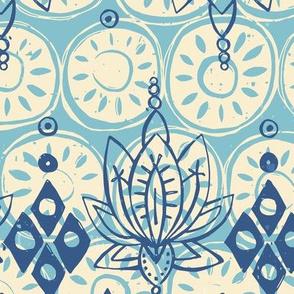 lotus diamond blue