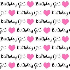 birthday girl fabric and wrap