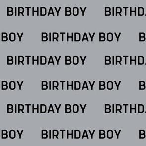 birthday boy fabric and wrap
