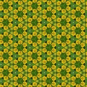 Yellow Flower Floral Photo Pattern Print