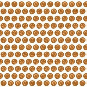 tiny dark coral orange sea shells