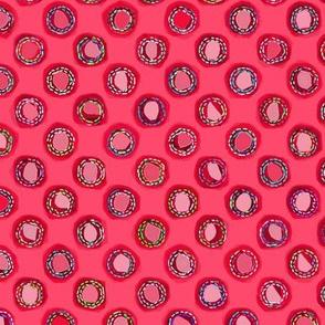 boro cloth #ff496c