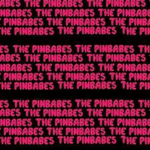 PINBABES BUBBLE LETTER STRIP LOGO