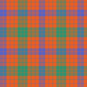 Ross clan tartan, ancient colors