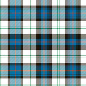 "Sutherland Old dress tartan, 6"", antique colors"