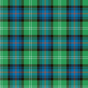 "Sutherland Old tartan, 6"", antique colors"