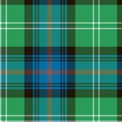 "Sutherland Old tartan, 6"", antique colors"