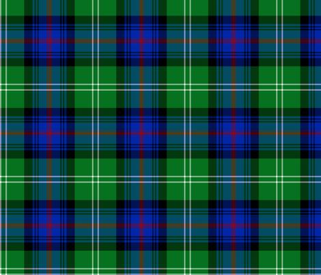 "Sutherland Old tartan, 6"", modern colors fabric by weavingmajor on Spoonflower - custom fabric"