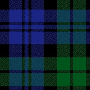 Sutherland 42nd regiment tartan, (Campbell 42nd) 6""