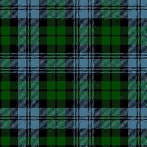 "Sutherland Black Watch tartan, 6"" dark"