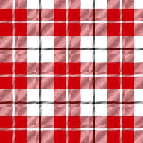 MacRae of Conchra red tartan, 3""