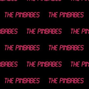 THE PINBABES LCD LOGO