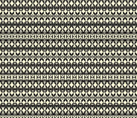 African Woodcut Stripes 1 fabric by robin_rice on Spoonflower - custom fabric