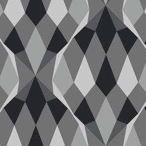 Romb grey