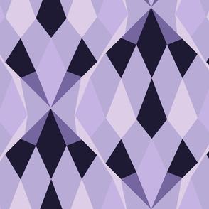 Romb purple