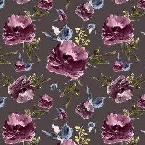 "4"" Amaranda Blooms - Deep Taupe"