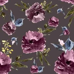"6"" Amaranda Blooms - Deep Taupe"