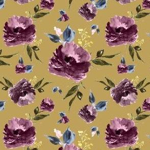 "4"" Amaranda Blooms - Gold"