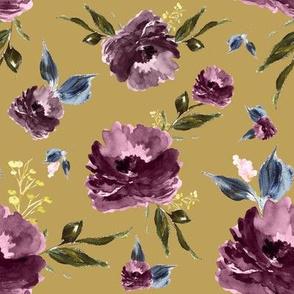 "8"" Amaranda Blooms - Gold"