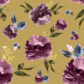 "21"" Amaranda Blooms - Gold"