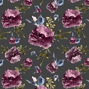 "4"" Amaranda Blooms - Grey"
