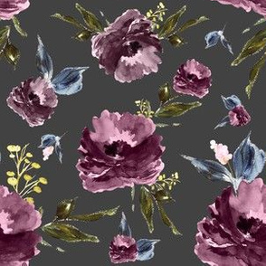 "6"" Amaranda Blooms - Grey"