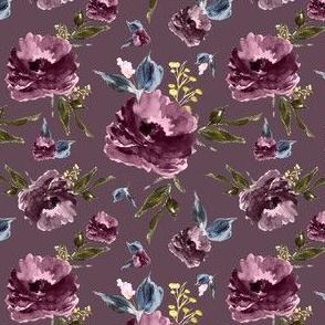 """4"""" Amaranda Blooms - Plum"""