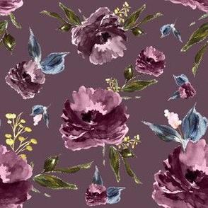 """6"""" Amaranda Blooms - Plum"""