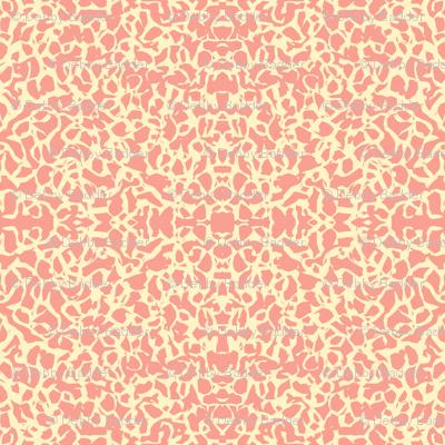 scribbly texture - tangerine