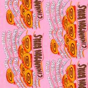 Finnish Cinnamon Buns Tea Towel