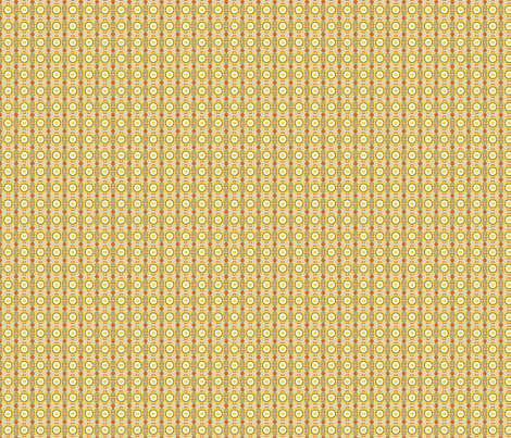 Soviet Era Arts and Crafts Style Geometrics in Red, Olive and Marigold, Ukranian Easter Egg Style fabric by galleryinthegardendesigns on Spoonflower - custom fabric