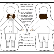 Occupational Chef Connor Cut and Sew Doll