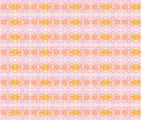 Girly diamonds fabric by twigsandblossoms on Spoonflower - custom fabric