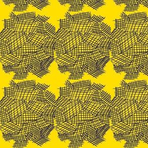 Linen balls/yellow