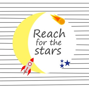 Wide Space Nursery- Reach for the Stars
