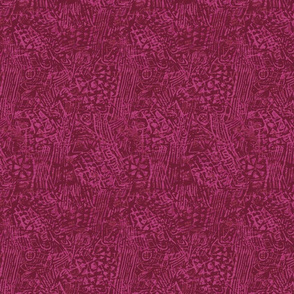 berry batik boho