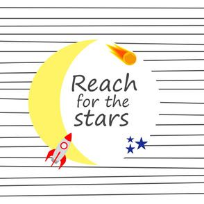 Space Nursery Reach for the Stars