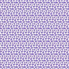 Purple Spots Cheetah Dots Rocks Periwinkle )