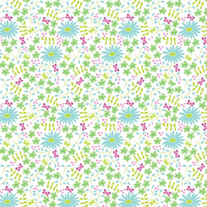 butterfly garden white