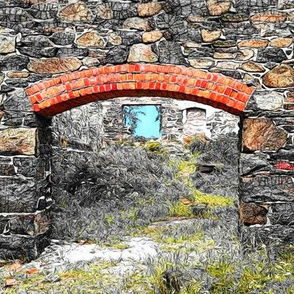 quincy hill ruins